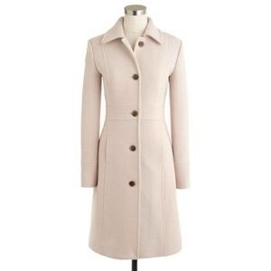J. Crew Double-Cloth Lady Day Wool Blend Coat